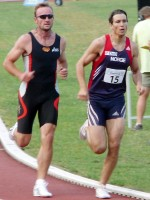 Tomáš Dvořák běžel i přes zranění nohy výborně