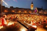 Atmosféra Bohemia Jazz Fest 2006 v Českých Budějovicích