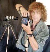 Zpěvák a fotograf Peter Nagy vystavuje fotografie