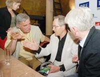 Jan Tříska v debatě s Dušanem Jamrichem a Emilem Horváthem