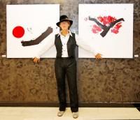 Japonské umění na obrazech Marjon de Jong