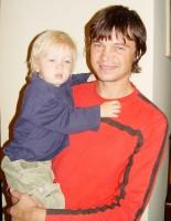 Olympionik Lukáš Polert se synem Honzíkem
