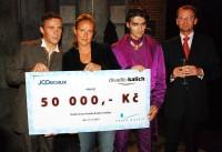 Roman Vojtek, Vendula Svobodová, Zdeněk Podhůrský a Jan Kábrt