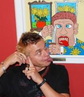 Vilda Čok úspěšně napodobuje obraz Van Gogh