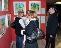František Ringo Čech vystavuje obrazy v Divadle Hybernia