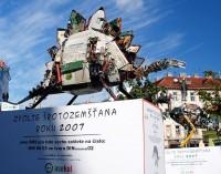 Hradecký stegosaurus Šroťáček