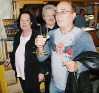 Petr Janda s Yvonne Přenosilovou a zpěvákem Pavlem Sedláčkem