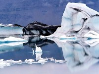 Ledové kry na jezeře Jökulsárlón