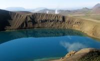 Kráter Víti na sopce Krafla
