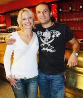 Alan Bastien s manželkou Kristinou Kloubkovou