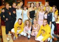 Finalisté Wellness Celebrity Shov 2006 s Ivou Kubelkovou