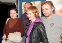 Výherkyně s Ondřejem Trojanem, Janem Hřebejkem a Aňou Geislerovou