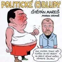 Štěpán Mareš a Marek Stoniš pokřtili Politické (o)bludy