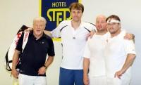 Známé české tváře se utkaly v tenise