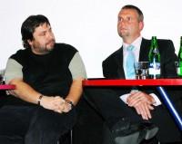 Xaver s generálním ředitelem Vězeňské služby Luďkem Kulou