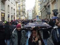 Maiselova ulice  - směrem od synagogy