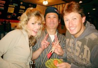 Martina s Pavlem v japonském sushi baru
