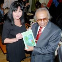 Dáda Patrasová s velvyslancem Indonésie Salimem Saidem