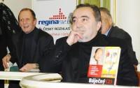 Dušan Klein, vlevo Michal Pavlata