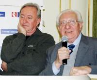 Jiří Lábus a Gustav Oplustil