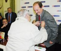 Viktor Preiss dostal za novinářskou činnost dokonce vyznamenání