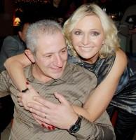 Helena v objetí s Martinem Michalem jen září