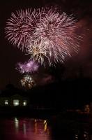 Novoroční ohňostroj 2008