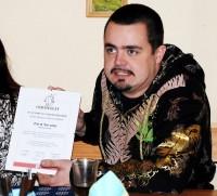 Pavel Novotný s certifikátem o českém rekordu ve vytrvalostní jízdě na tříkolce