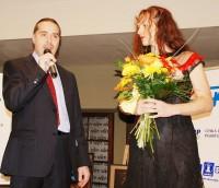 Oldřich Lichtenberg se Sárou Saudkovou