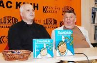 Miloslav Švandrlík pokřtil knihu Doktor od Jezera hrochů