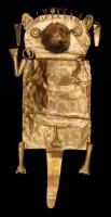 Zlatá obřadní taška se zvířecími motivy