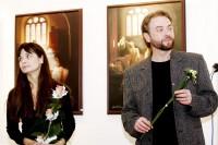 Galeristka Klára Spolková a umělecký fotograf Ivo Chvátil
