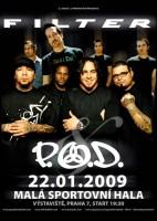 Americké nu-metalové skupiny P.O.D a Filter chystají společné turné