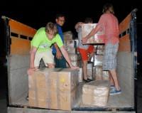 Kintari sbírka pro děti z ostrova Lombok musela urazit z Čech dlouhou cestu