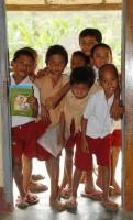 Děti ve škole Ngolang