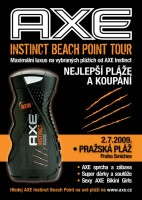 Axe Instinct Beach Point Tour 2009