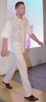 Osmany Laffita předvedl na Rohanském ostrově kolekci na jaro - léto 2010