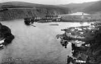 Povodeň ve Štěchovicích nad Vltavou v říjnu roku 1915 (Autor: Josef Dvořák)