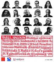 Pozvánka na vernisáž Karla Halouna