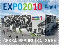 Vydání série poštovních známek s motivem EXPO