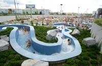 Aquapalace Praha otevírá venkovní zónu a zve na zmrzlinovou party