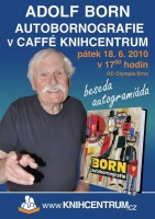 Adolf Born bude v Brně podepisovat autobornografii