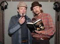 Ladislav Frej a Vladimír Javorský jako Sherlock Holmes a Doktor Watson