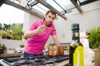 S Italem Emanuelem Ridim v kuchyni