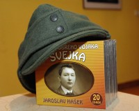 Nejrozsáhlejší zvukovou nahrávku Švejka na 20CD pokřtil herec Rudolf Hrušínský