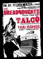 Celtic punk jízda v Rock Café, kam dorazí The Dreadnoughts a Talco