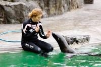 Zvířata se ráda učí v Zoo Praha