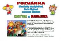 Pozvánka na křest knihy Matýsek a Majdalenka