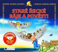 Audioknihy pro děti Staré pověsti české a Staré řecké báje a pověsti