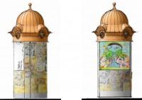 Dětský orloj v Poděbradech